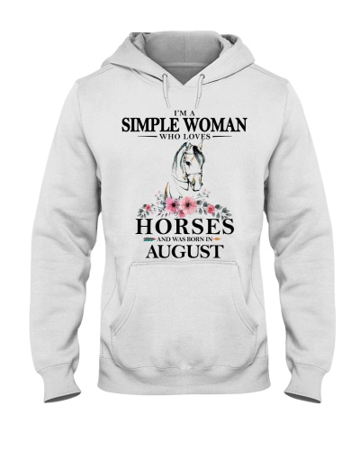 horse simple woman August 0005