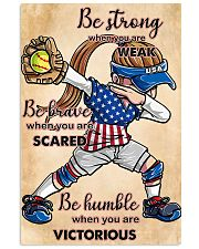 USA softball women poster 0042-9993-0000 11x17 Poster front