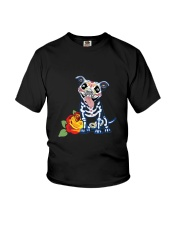dog - pitbull tattoos Youth T-Shirt thumbnail
