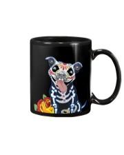 dog - pitbull tattoos Mug thumbnail