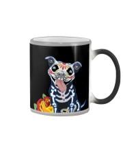 dog - pitbull tattoos Color Changing Mug thumbnail