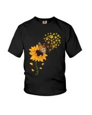 Dog - faith hope love Youth T-Shirt thumbnail