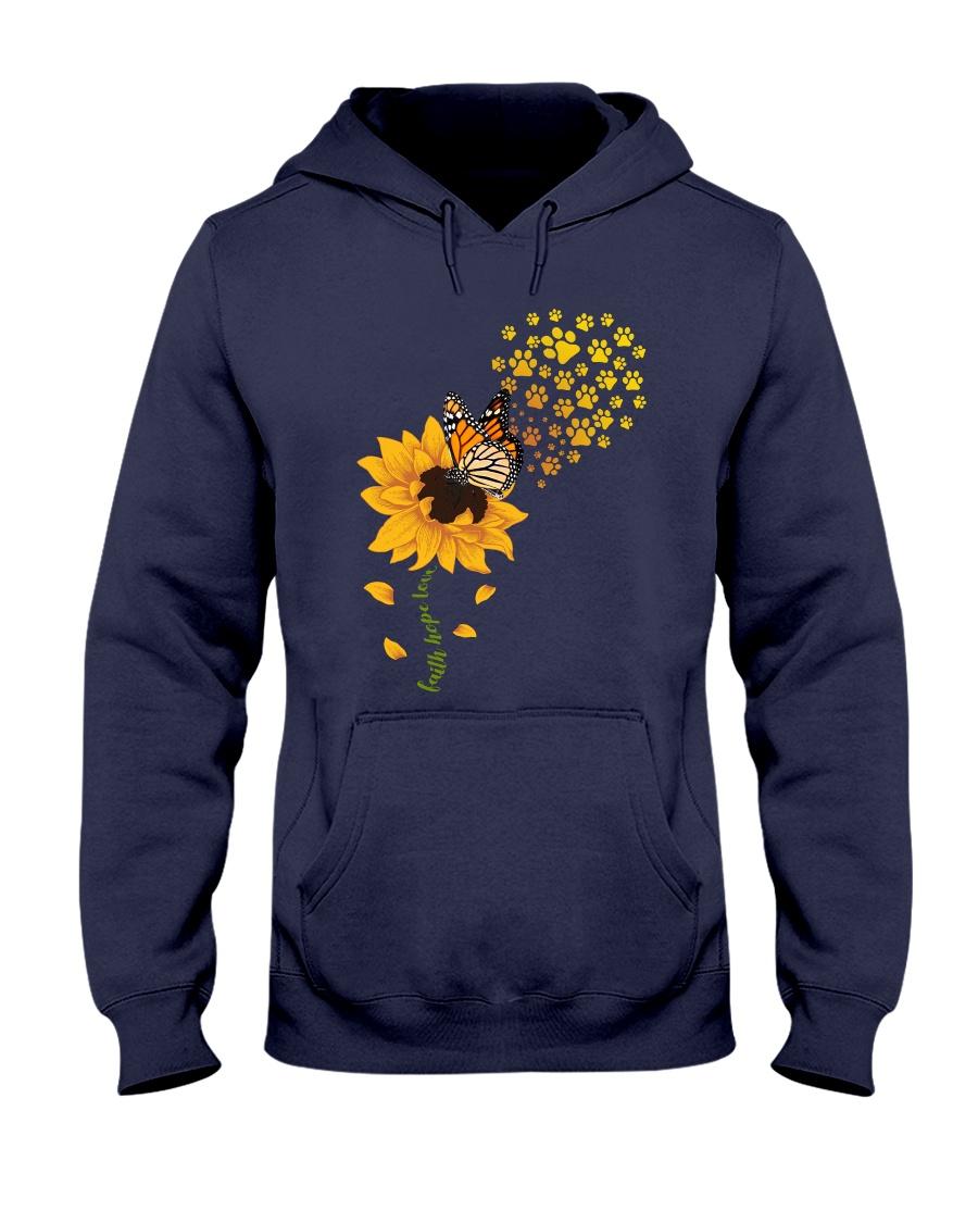 Dog - faith hope love Hooded Sweatshirt