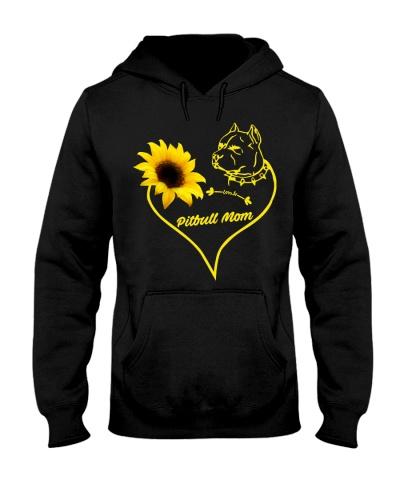 pitbull mom sunflower 9997 0005