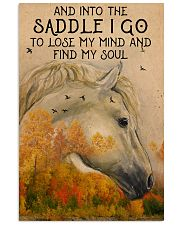 Into the saddle I go to find my soul 0000 11x17 Poster front