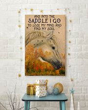 Into the saddle I go to find my soul 0000 11x17 Poster lifestyle-holiday-poster-3