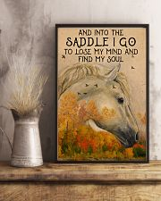 Into the saddle I go to find my soul 0000 11x17 Poster lifestyle-poster-3