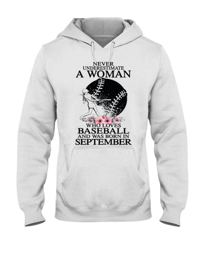 A woman loves baseball and was born in September