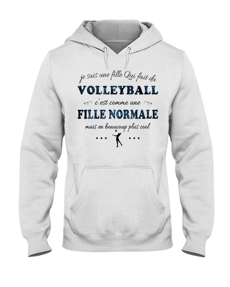Fille Normale - Volleyball Hooded Sweatshirt