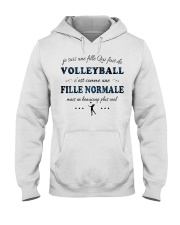 Fille Normale - Volleyball Hooded Sweatshirt front