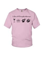 SIMPLE WOMAN HORSE Youth T-Shirt thumbnail
