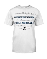 Fille Normale - Course dorientation Classic T-Shirt tile
