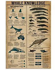 WHALE KNOWLEDGE 9993 0012 11x17 Poster front