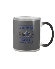 Never Underestimate A Woman - Golf Color Changing Mug thumbnail