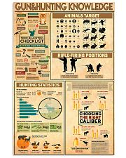 Hunting Knowledge 11x17 Poster front