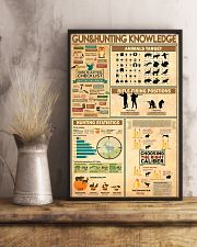 Hunting Knowledge 11x17 Poster lifestyle-poster-3