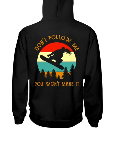 Snowboard girl follow me back 0005