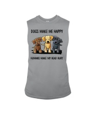 dog make me happy Sleeveless Tee thumbnail