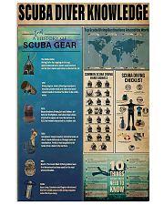 Scuba Diver Knowledge 11x17 Poster front