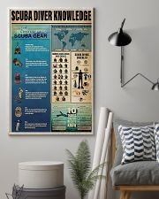 Scuba Diver Knowledge 11x17 Poster lifestyle-poster-1