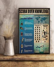 Scuba Diver Knowledge 11x17 Poster lifestyle-poster-3