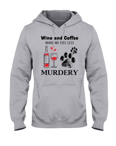 Dog and wine -  murdery
