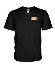 Kansas USA Flag V-Neck T-Shirt thumbnail