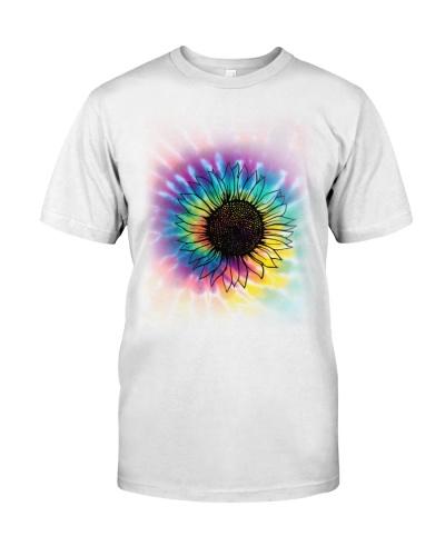 Hippie tie dye sunflower 9997