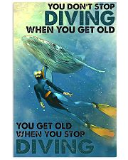 You Don't Stop Diving 11x17 Poster front