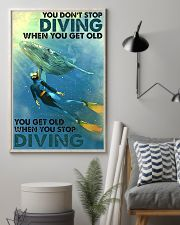 You Don't Stop Diving 11x17 Poster lifestyle-poster-1