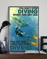You Don't Stop Diving 11x17 Poster lifestyle-poster-2