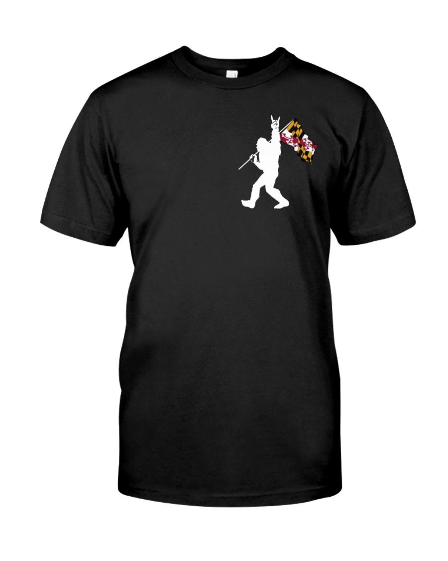 Bigfoot Maryland 2 sides PT 0037  Classic T-Shirt