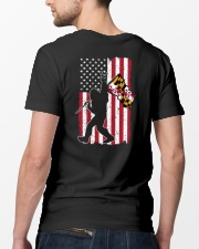 Bigfoot Maryland 2 sides PT 0037  Classic T-Shirt lifestyle-mens-crewneck-back-5