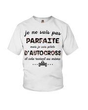 D'Autocross - Je ne Suis Pas Parfaite Youth T-Shirt thumbnail