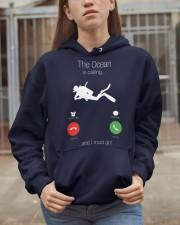 The ocean calling 0000 Hooded Sweatshirt apparel-hooded-sweatshirt-lifestyle-07