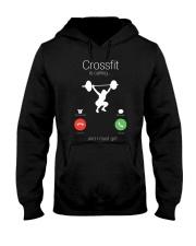 crossfit  Hooded Sweatshirt front
