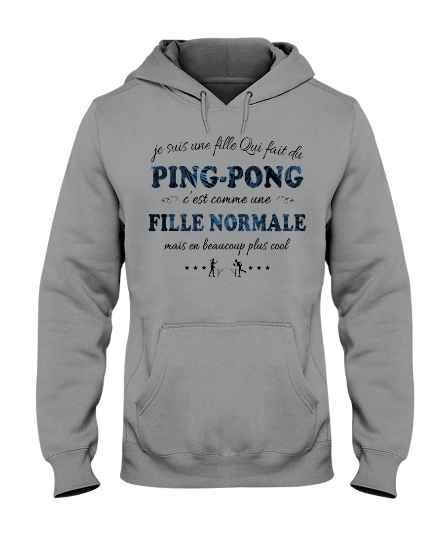Fille Normale - Ping-Pong GR Hooded Sweatshirt