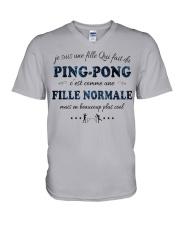 Fille Normale - Ping-Pong GR V-Neck T-Shirt thumbnail