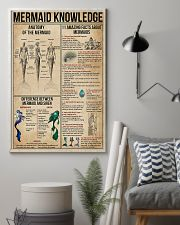 Mermaid Knowledge 11x17 Poster lifestyle-poster-1