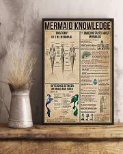 Mermaid Knowledge 11x17 Poster lifestyle-poster-3