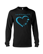 Montana Blue Heart PT  Long Sleeve Tee thumbnail