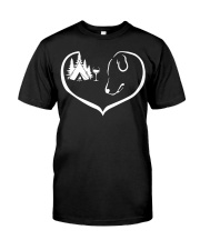 easily-distracted-by-camping-dog-wine-pt Classic T-Shirt thumbnail
