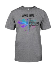 Dragonfly - April Girl Classic T-Shirt tile