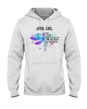 Dragonfly - April Girl Hooded Sweatshirt front
