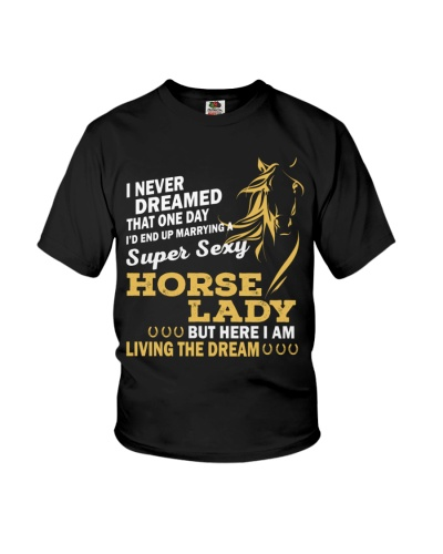 Horse lady- Living the dream