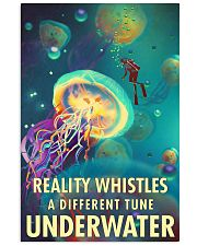 Reality Whistles A Different Tune Underwater 0012 11x17 Poster front