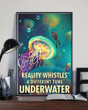 Reality Whistles A Different Tune Underwater 0012 11x17 Poster lifestyle-poster-2