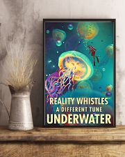 Reality Whistles A Different Tune Underwater 0012 11x17 Poster lifestyle-poster-3