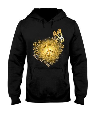 hippie gold heart 9997