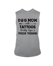 dog mom with tattoos Sleeveless Tee thumbnail